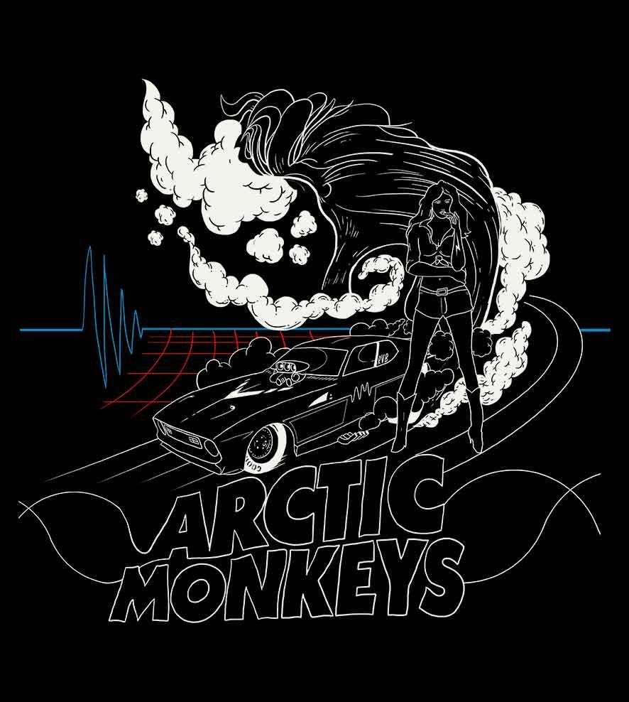 Camiseta - Do I Wanna Know? - Arctic Monkeys - Masculino