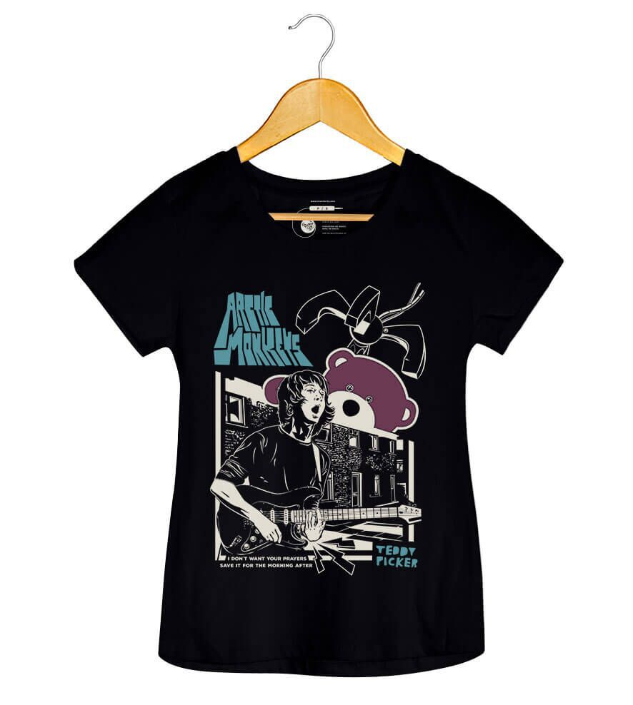 Camiseta - Ted Picker - Arctic Monkeys - Feminino
