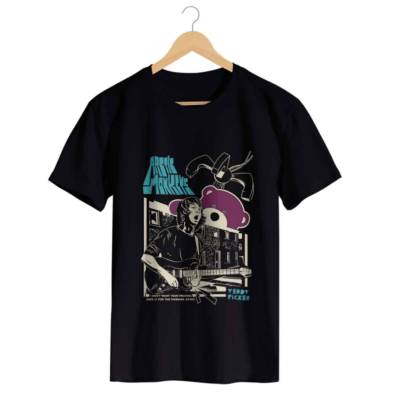 Camiseta - Arctic Monkeys - Ted Picker - Masculino