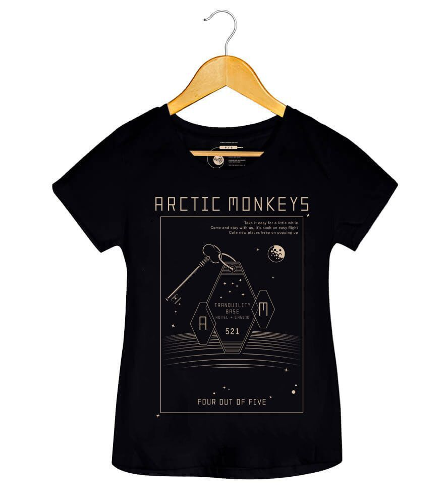 Camiseta - Tranquility Base Hotel - Artic Monkeys - Feminino