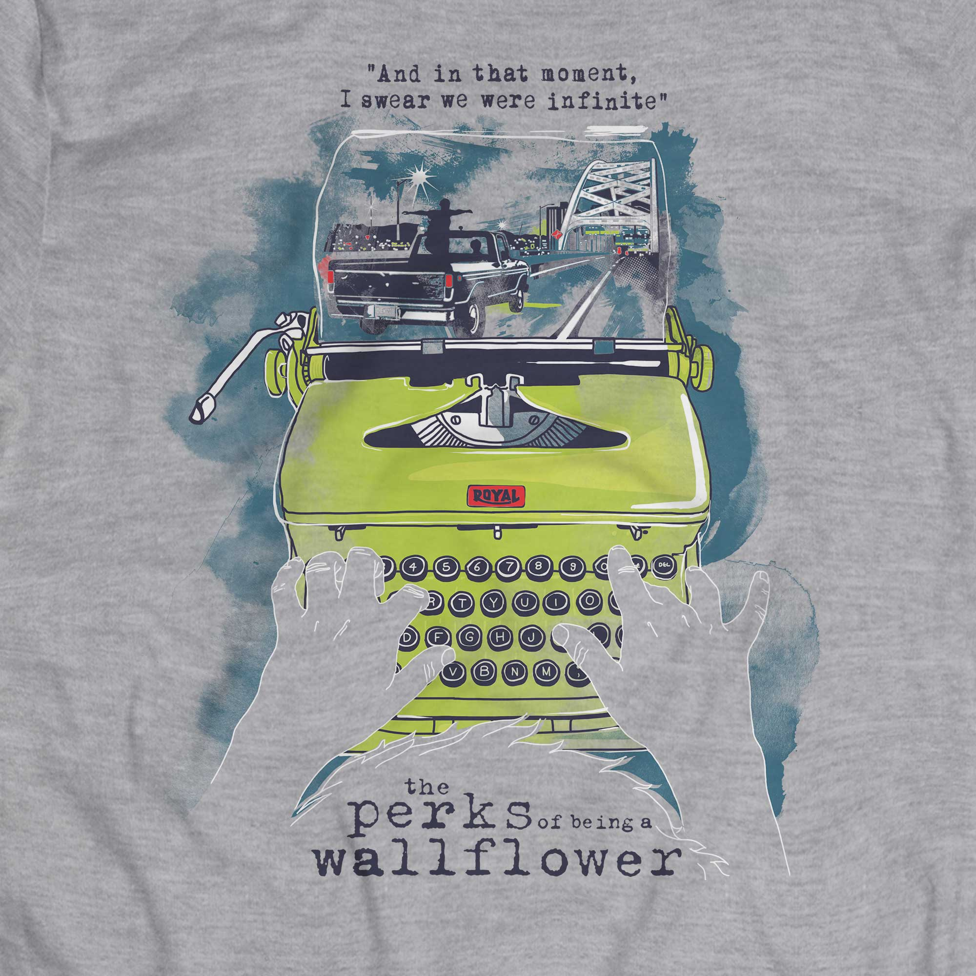 Camiseta As Vantagens de Ser Invisível - Masculino