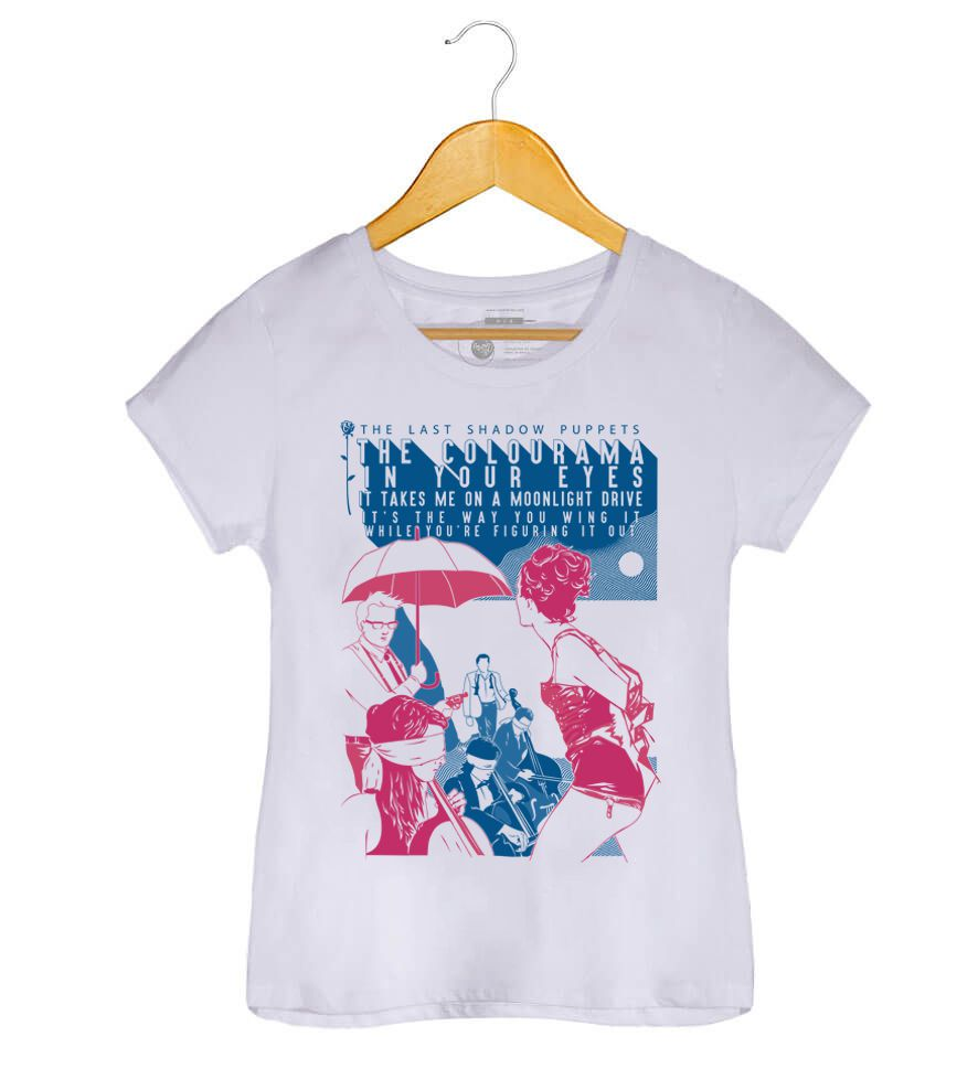 Camiseta - Aviation - The Last Shadow Pupets - Feminino