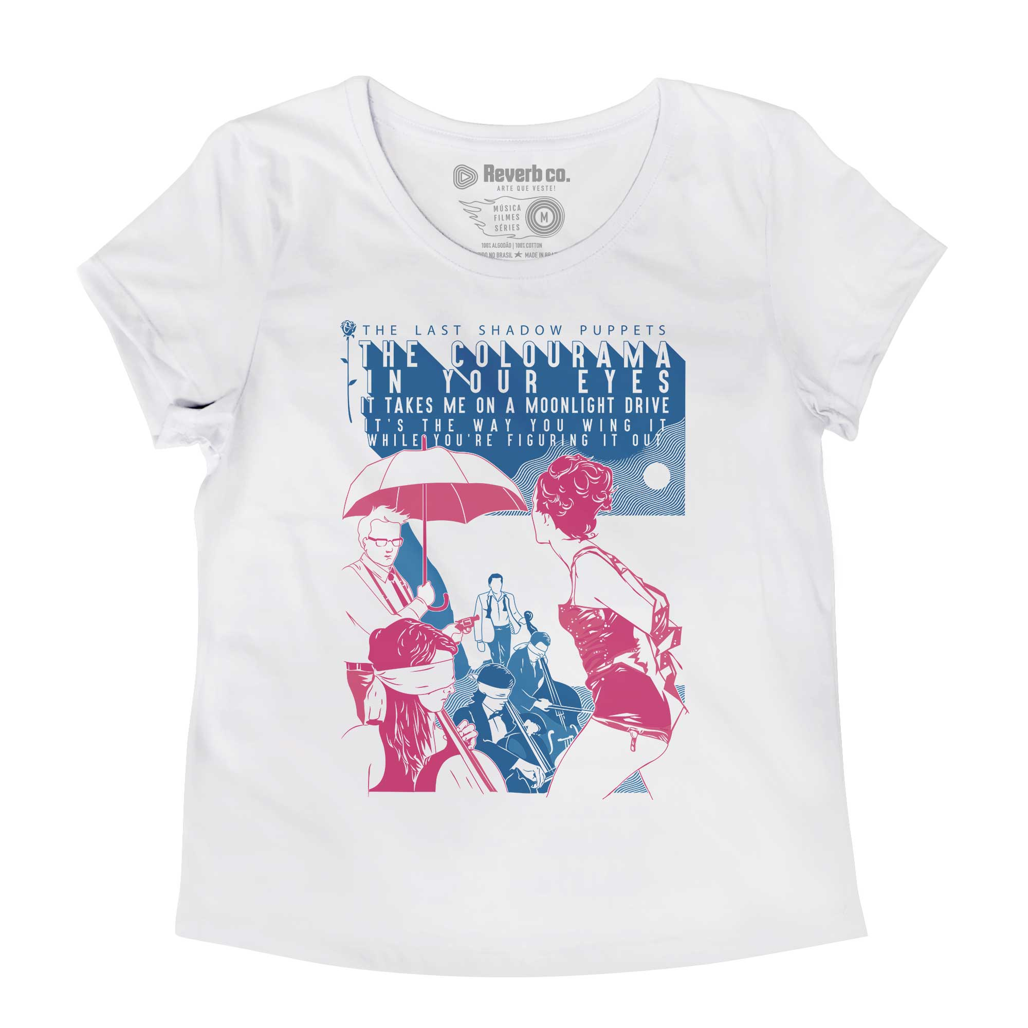 Camiseta Aviation - The Last Shadow Pupets - Feminino