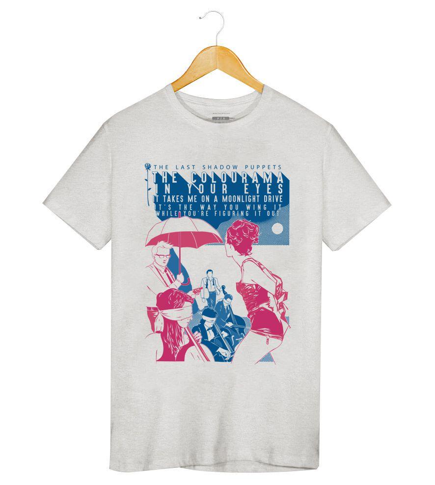 Camiseta - Aviation - The Last Shadow Pupets - Masculino