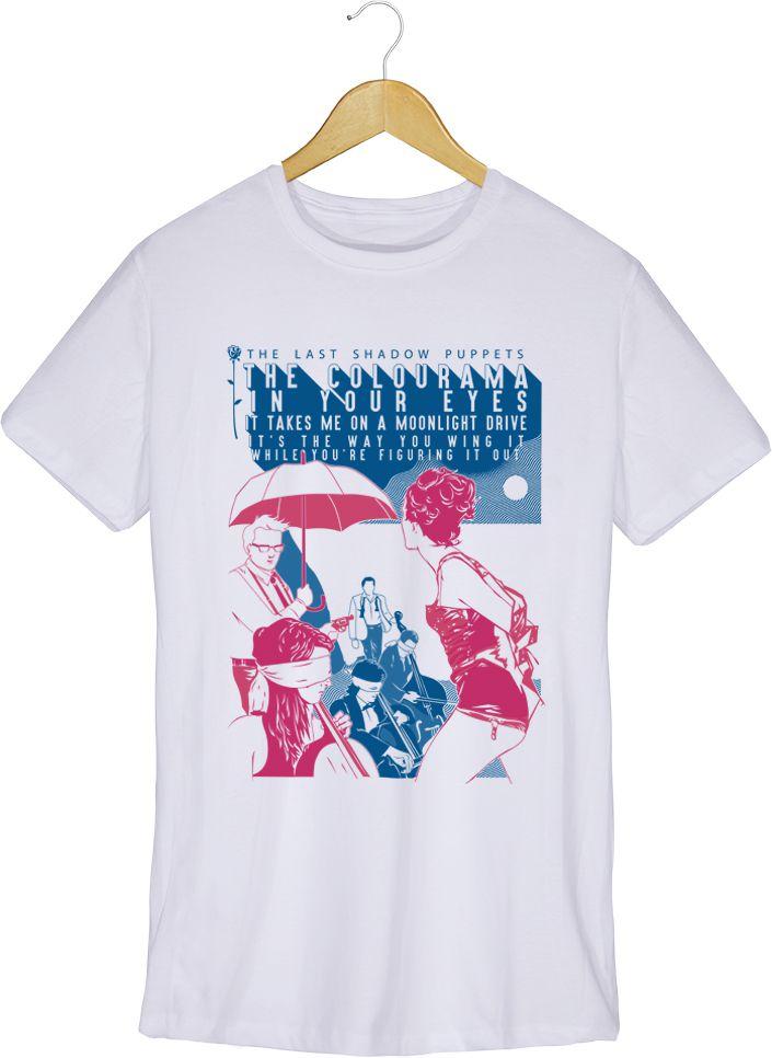 Camiseta Aviation - The Last Shadow Pupets - Masculino