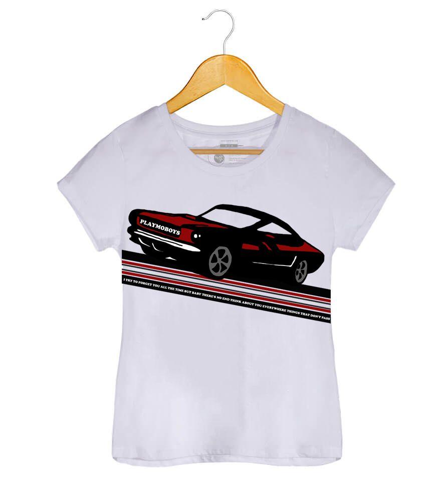 Camiseta - Baby, There's No End - Playmoboys - Feminino