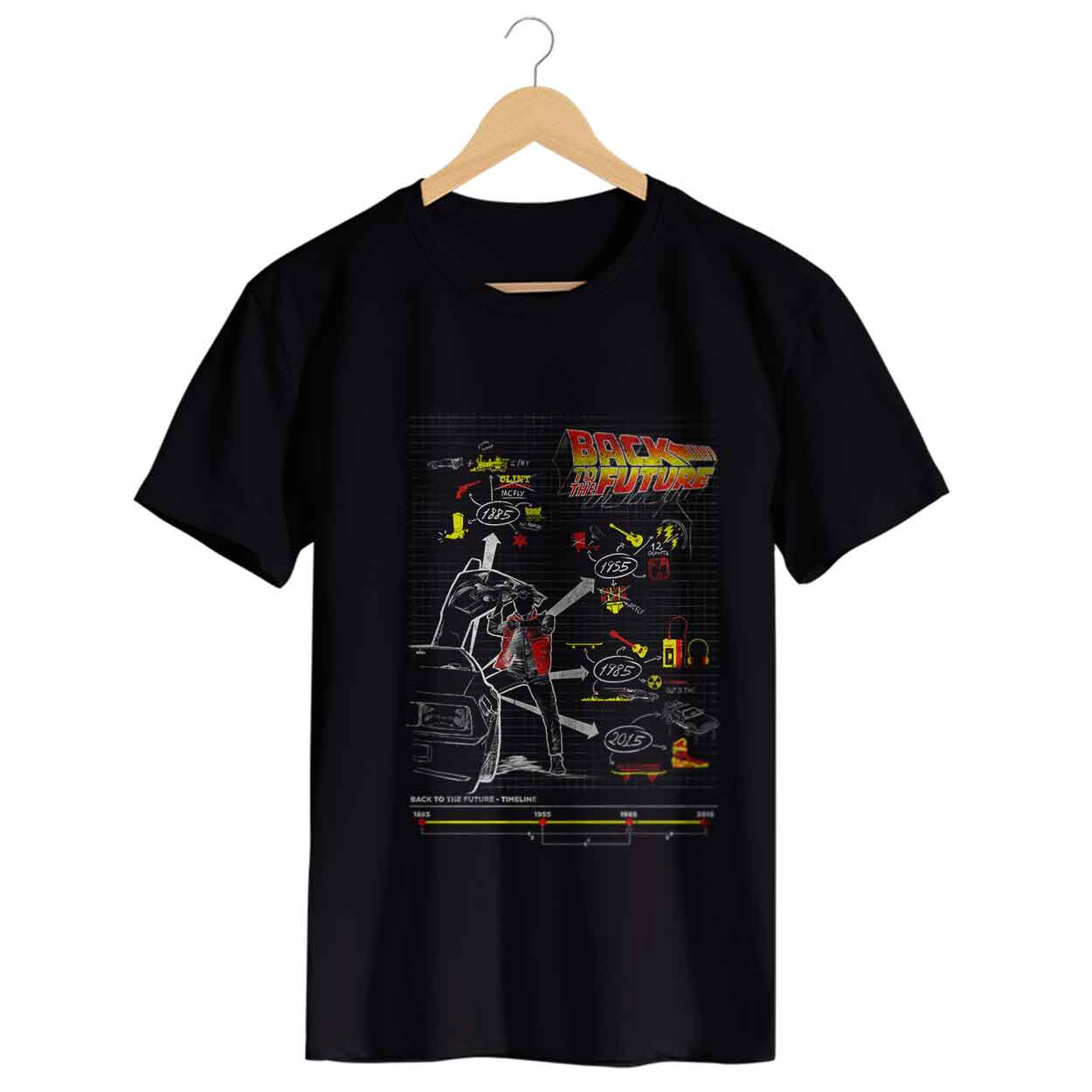 Camiseta - Back To The Future - Masculino