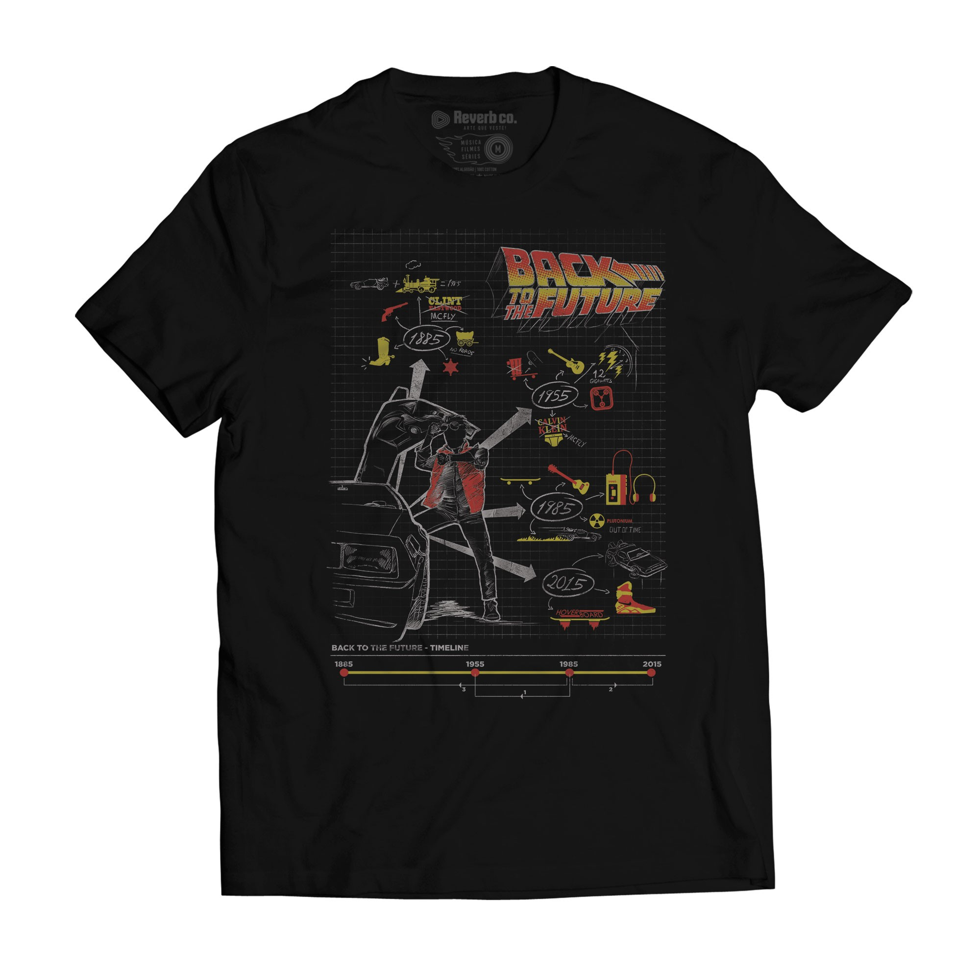 Camiseta Back To The Future - Masculino