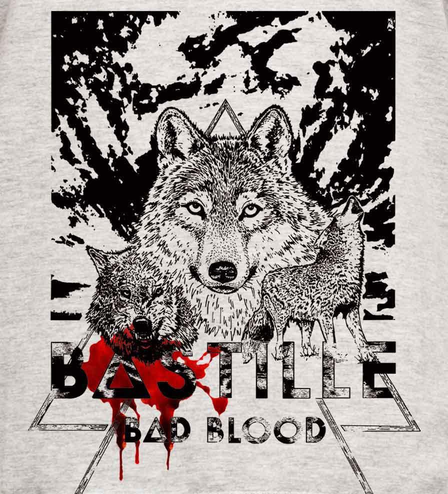 Camiseta - Bad Blood - Bastille - Feminino