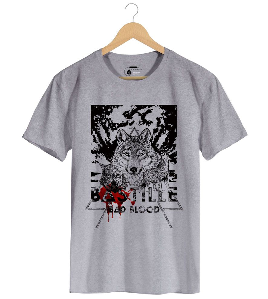 Camiseta Bad Blood - Bastille - Masculino