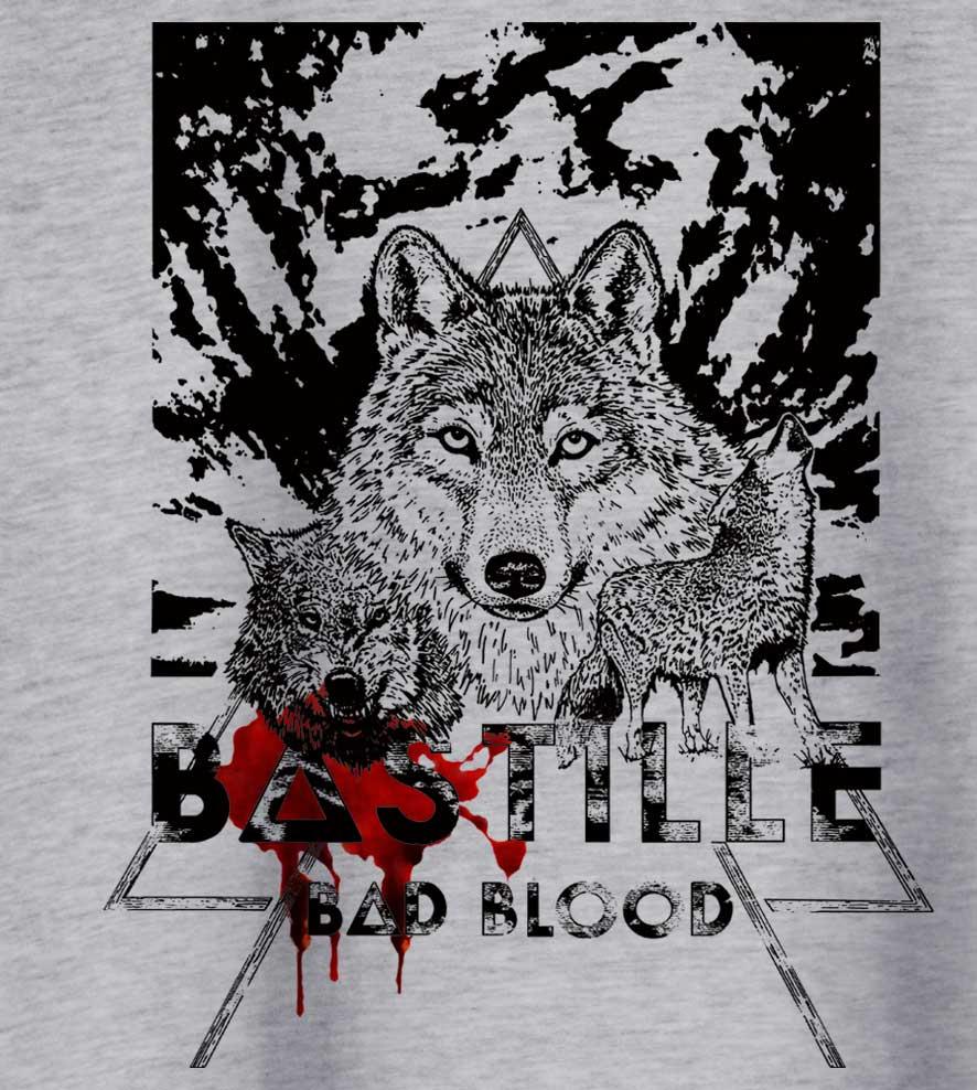 Camiseta - Bad Blood - Bastille - Masculino
