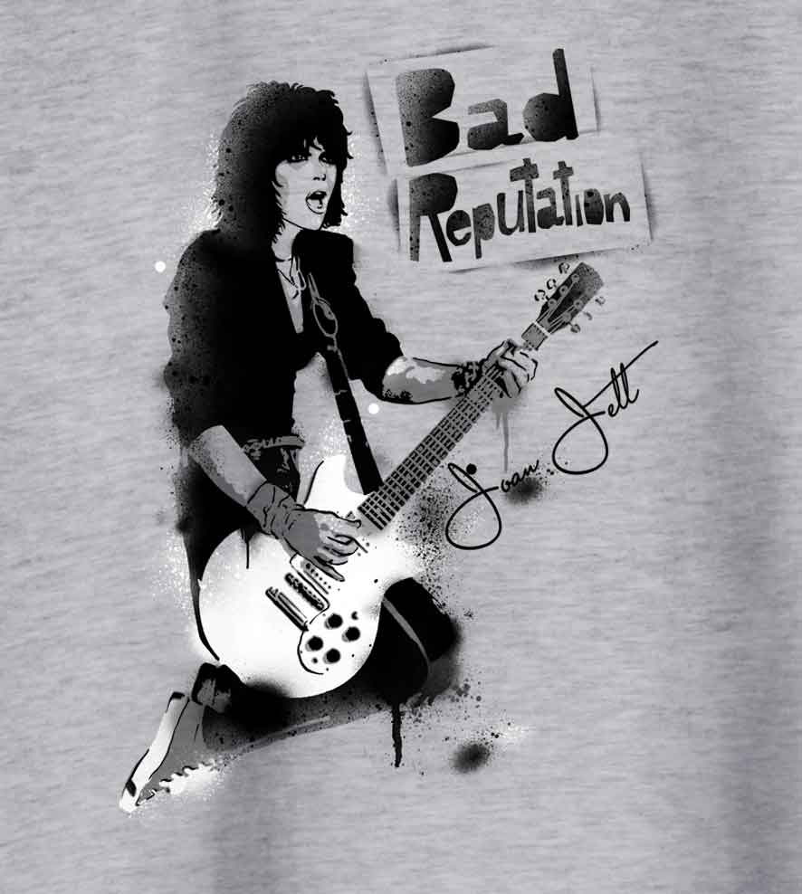 Camiseta Bad Reputation - Joan Jett - Masculino