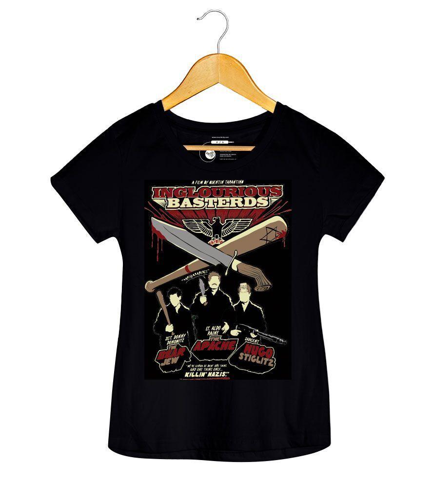 Camiseta Bastardos Inglórios - Feminino
