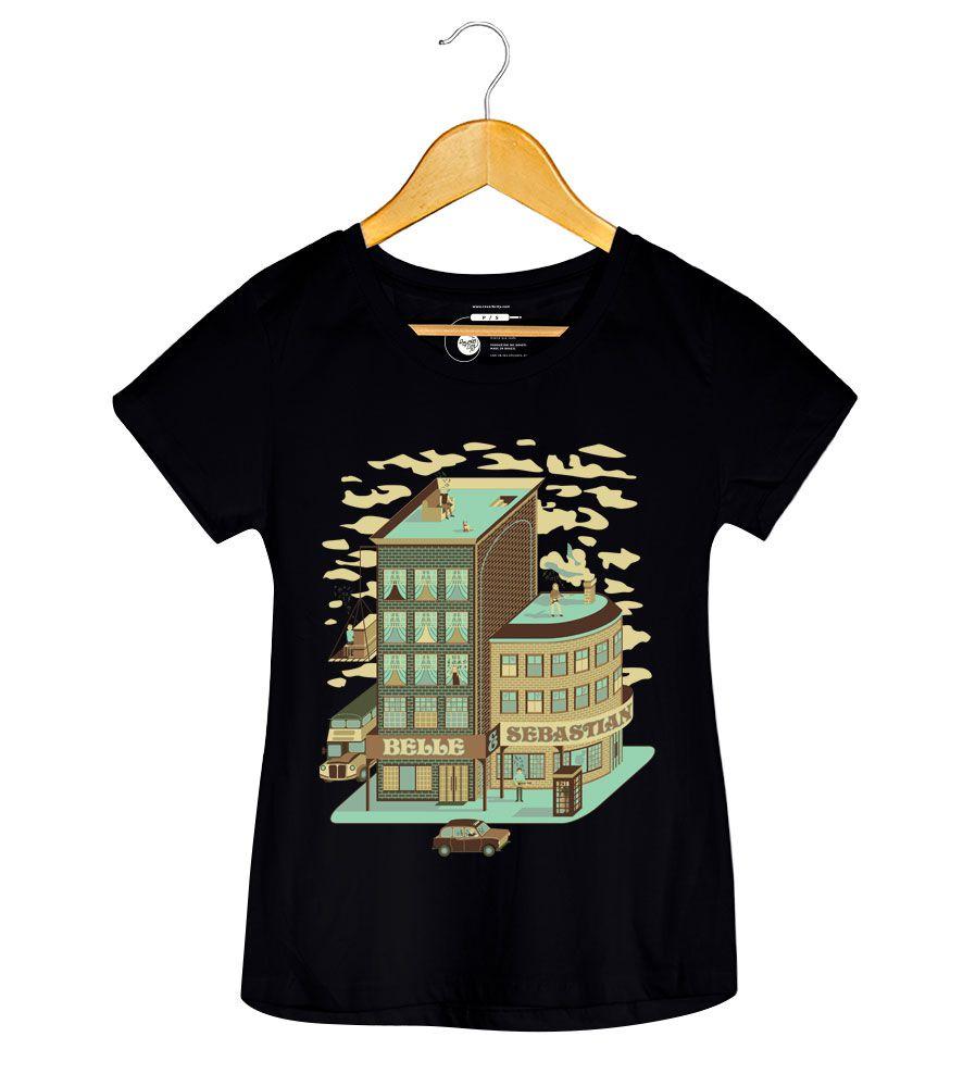 Camiseta - BBC Sessions - Belle & Sebastian - Feminino