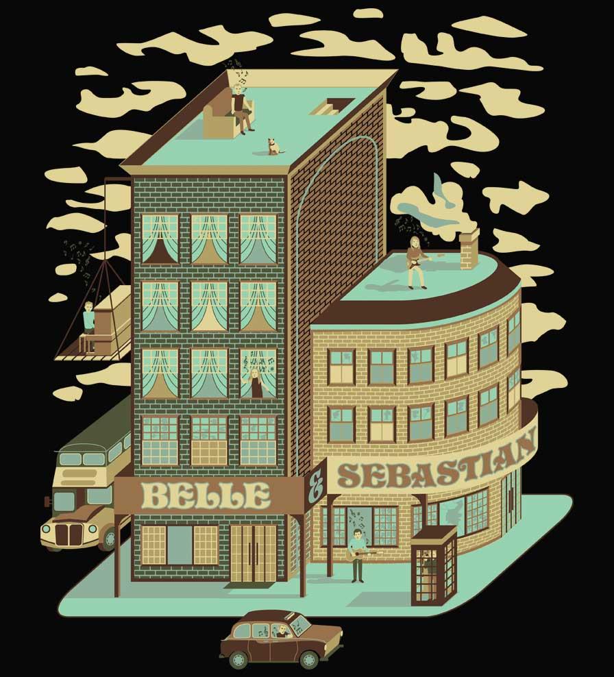 Camiseta - BBC Sessions - Belle & Sebastian - Masculino