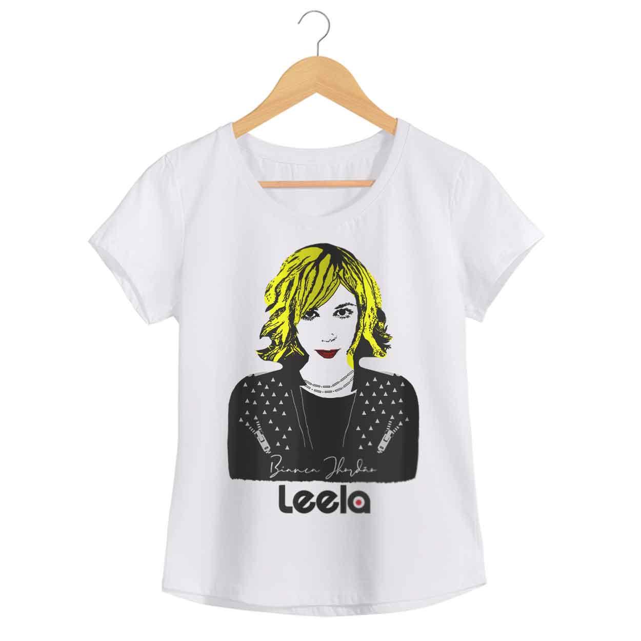 Camiseta Bianca Jhordão - Leela - Feminino