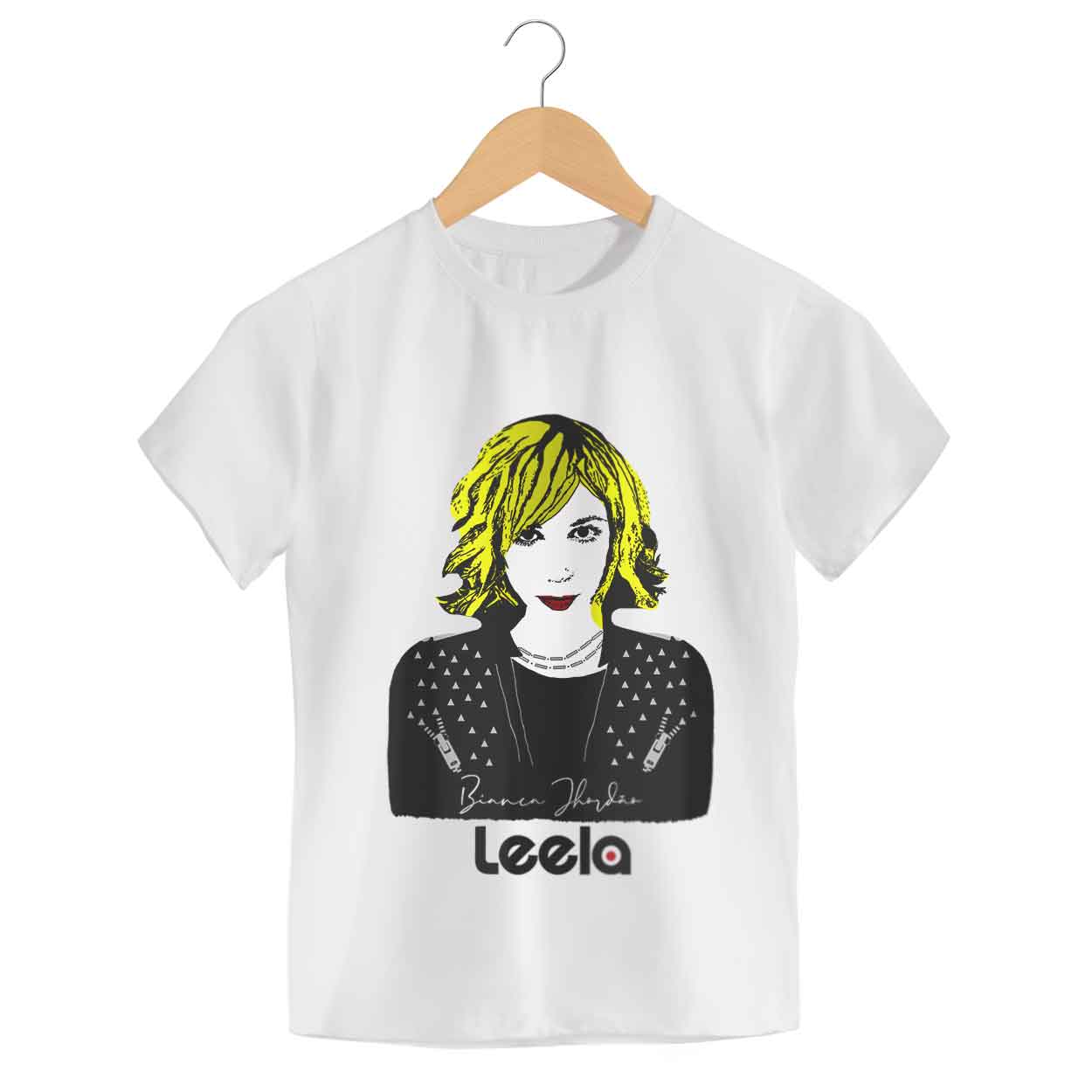 Camiseta Bianca Jhordão - Leela - Infantil