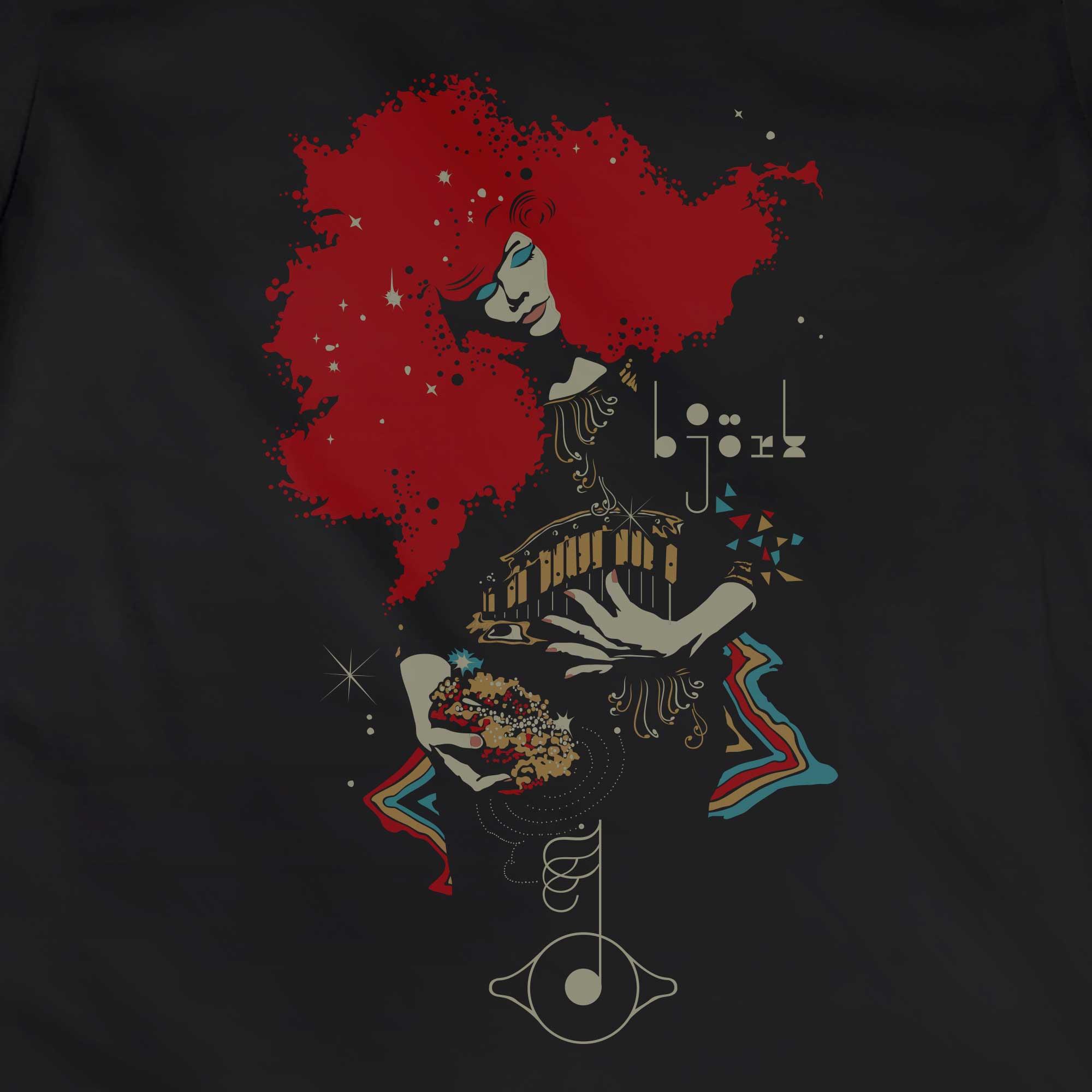 Camiseta Bjork - Feminino