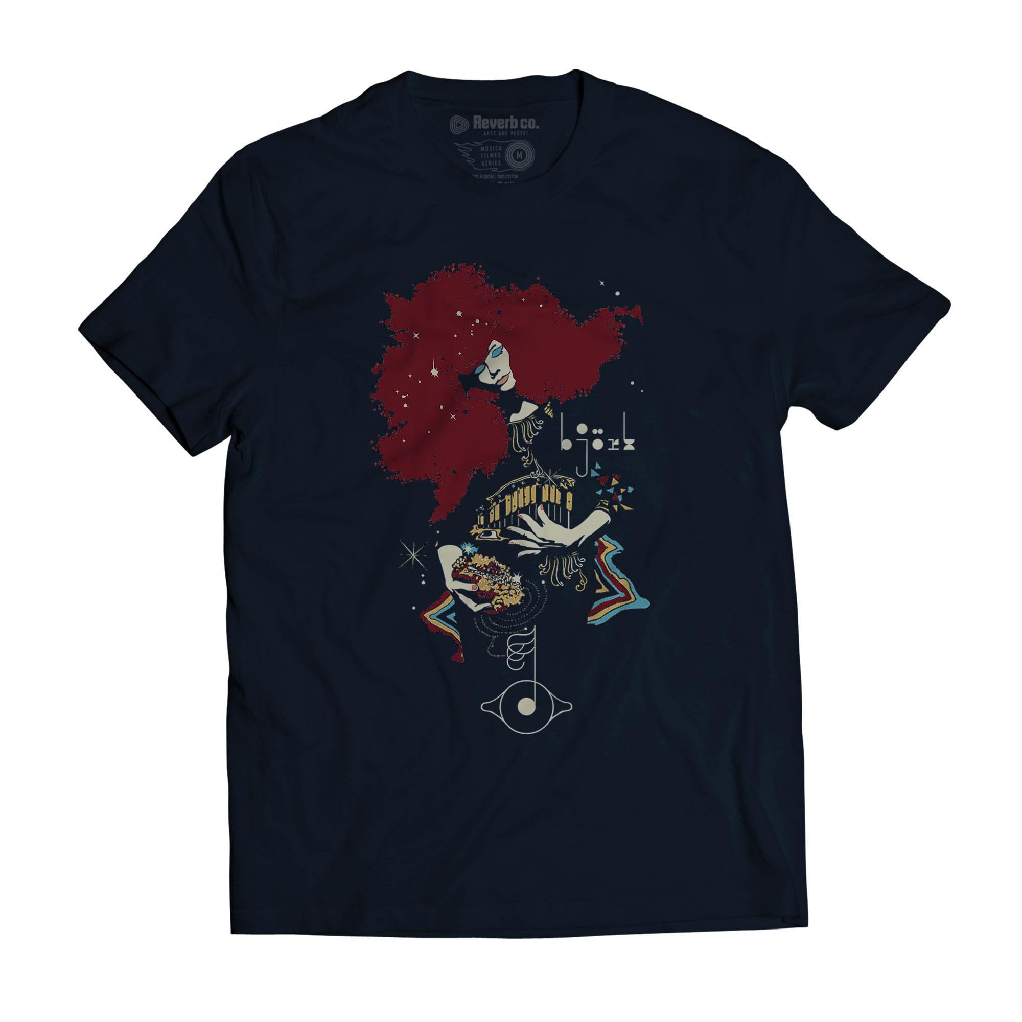 Camiseta Bjork - Masculino