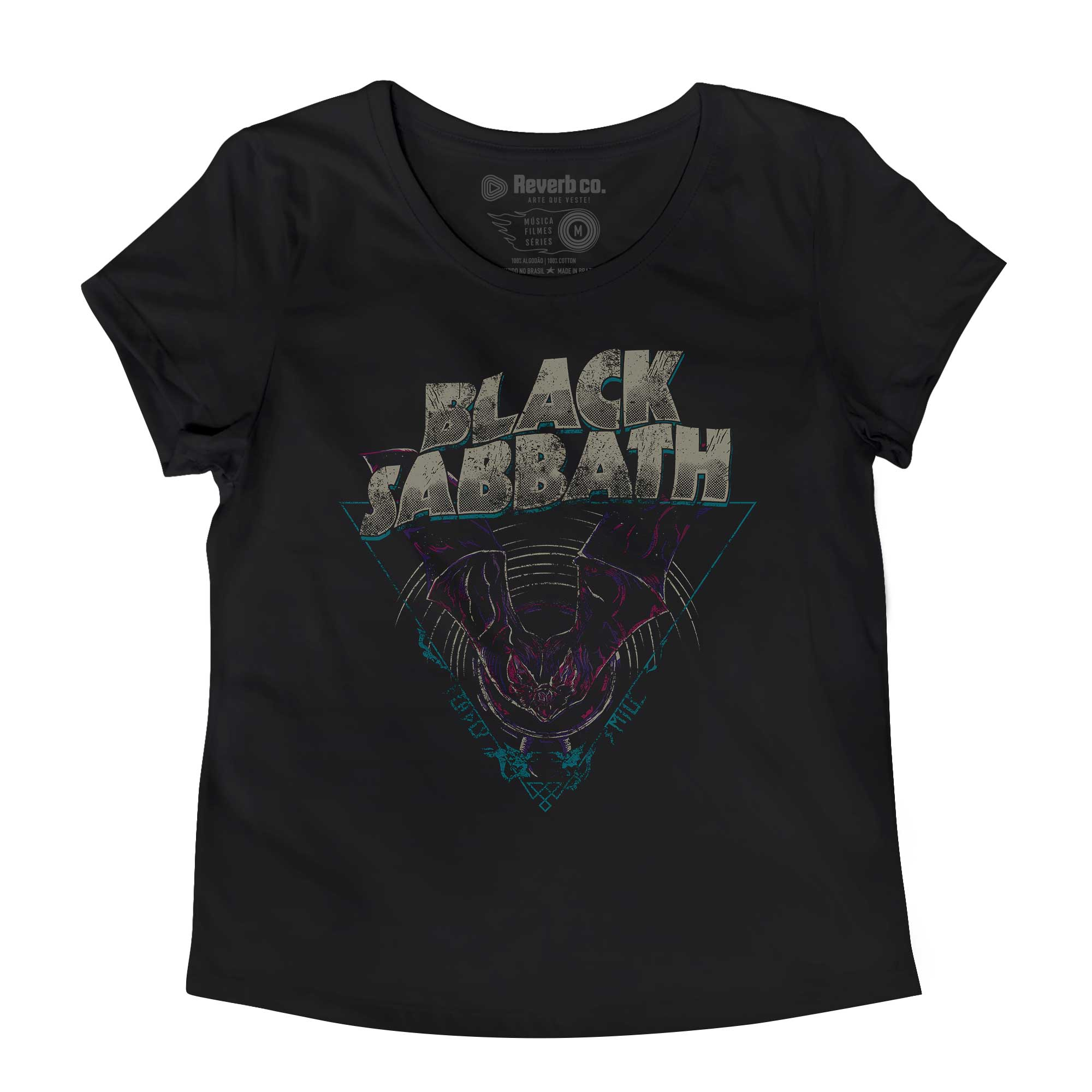 Camiseta Black Sabbath - Deadly Smile - Feminino