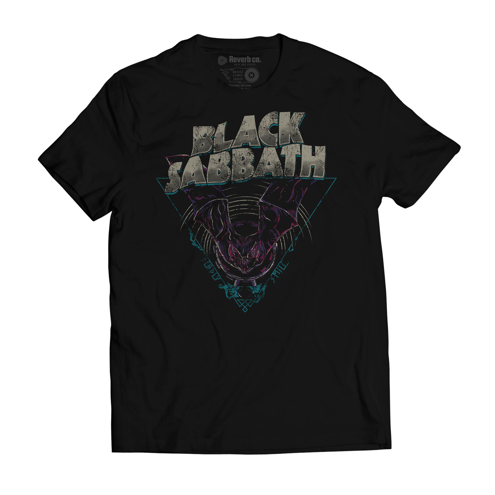 Camiseta Black Sabbath - Deadly Smile - Masculino