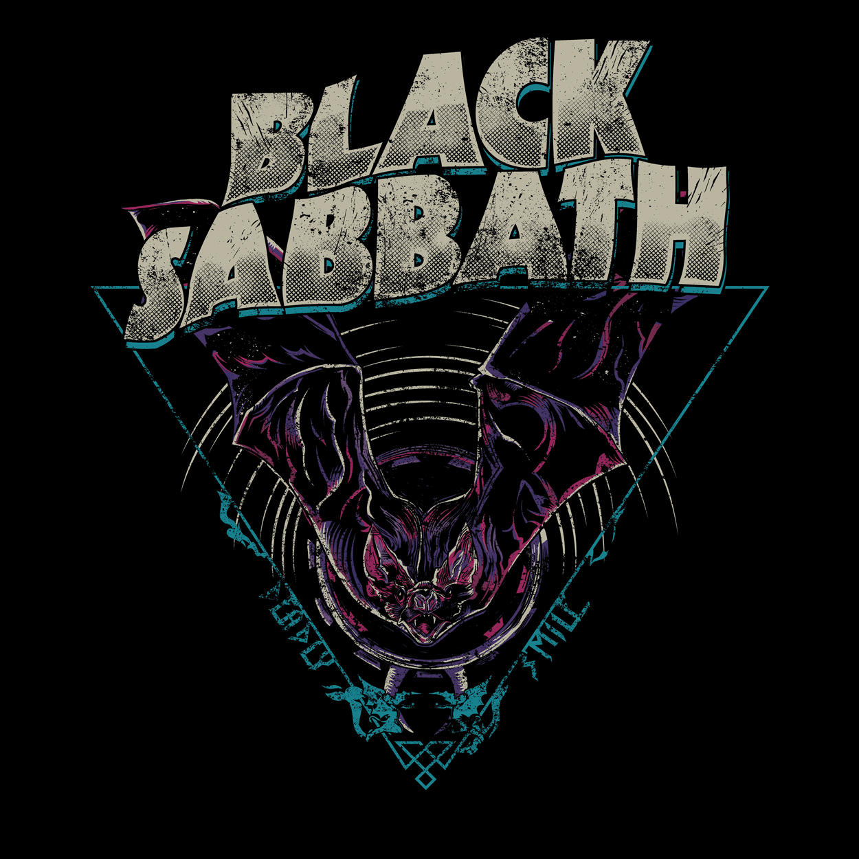 Camiseta Black Sabbath - Deadly Smile - Masculino