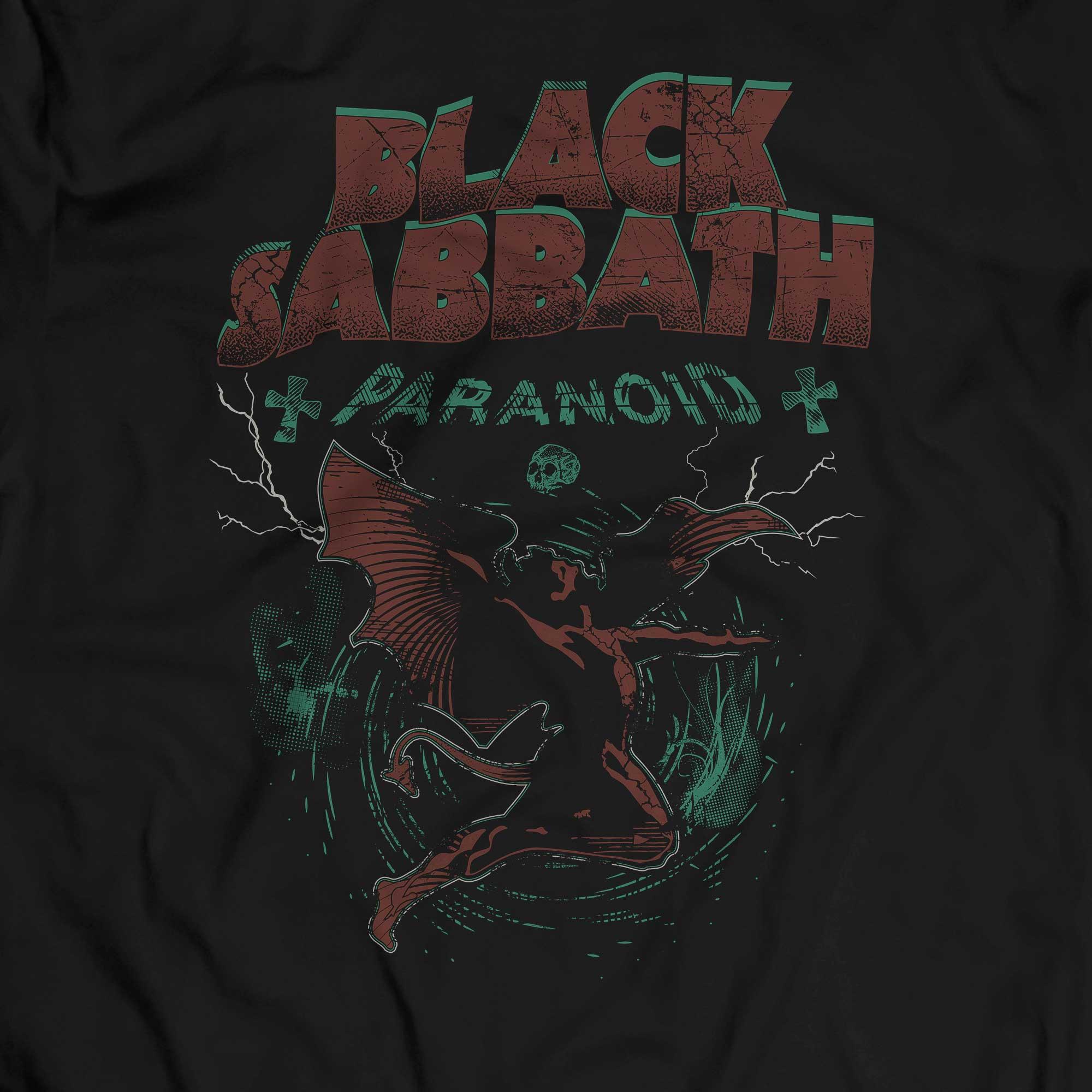 Camiseta Black Sabbath - Paranoid - Masculino