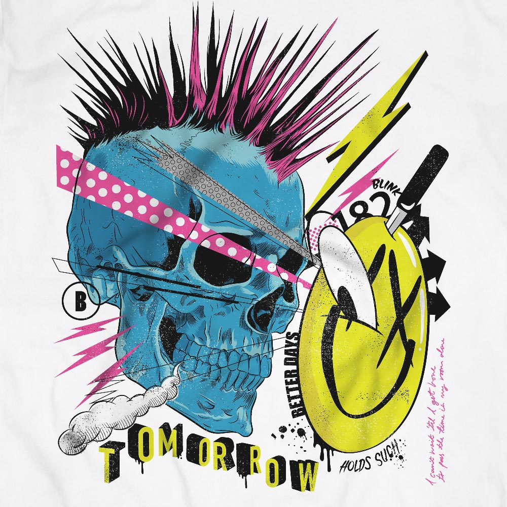 Camiseta Blink182 - Masculino