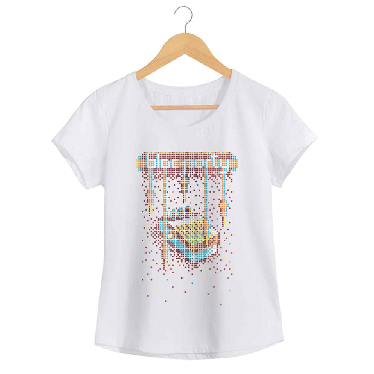 Camiseta Block Party - Feminino