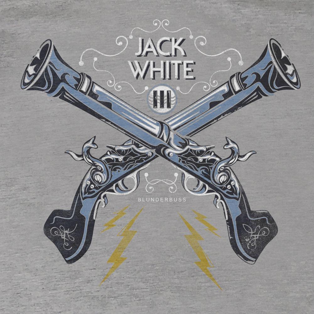 Camiseta Blunderbuss - Jack White - Feminino