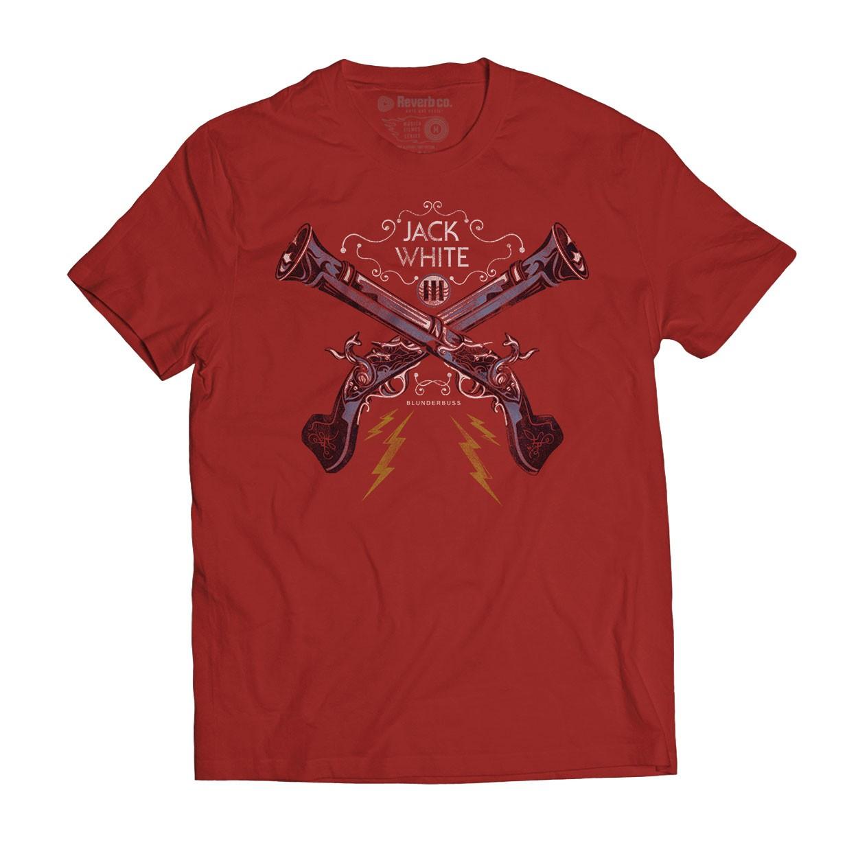 Camiseta Blunderbuss - Jack White - Masculino
