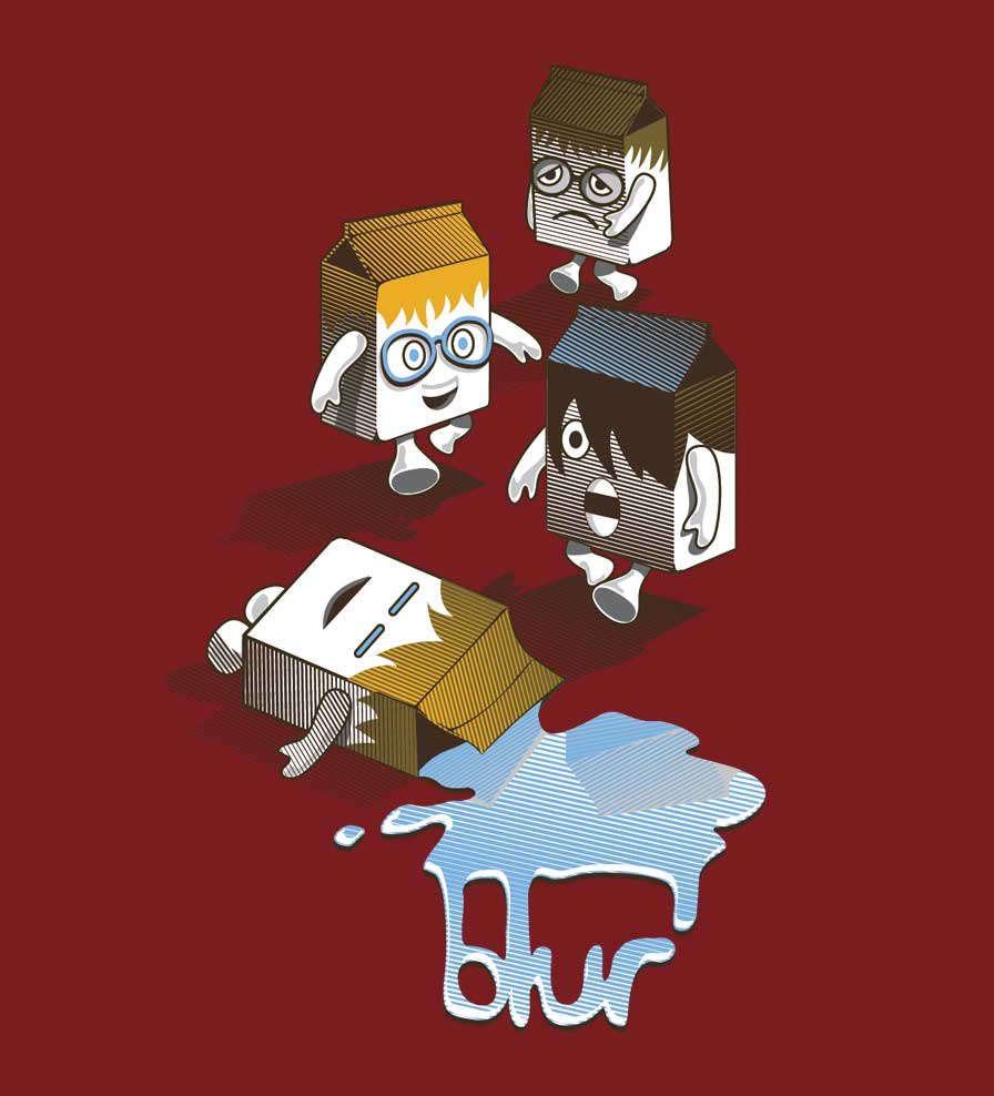 Camiseta Coffee And TV - Blur - Masculino