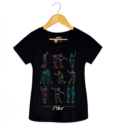 Camiseta - The Magic Whip - Blur - Feminino