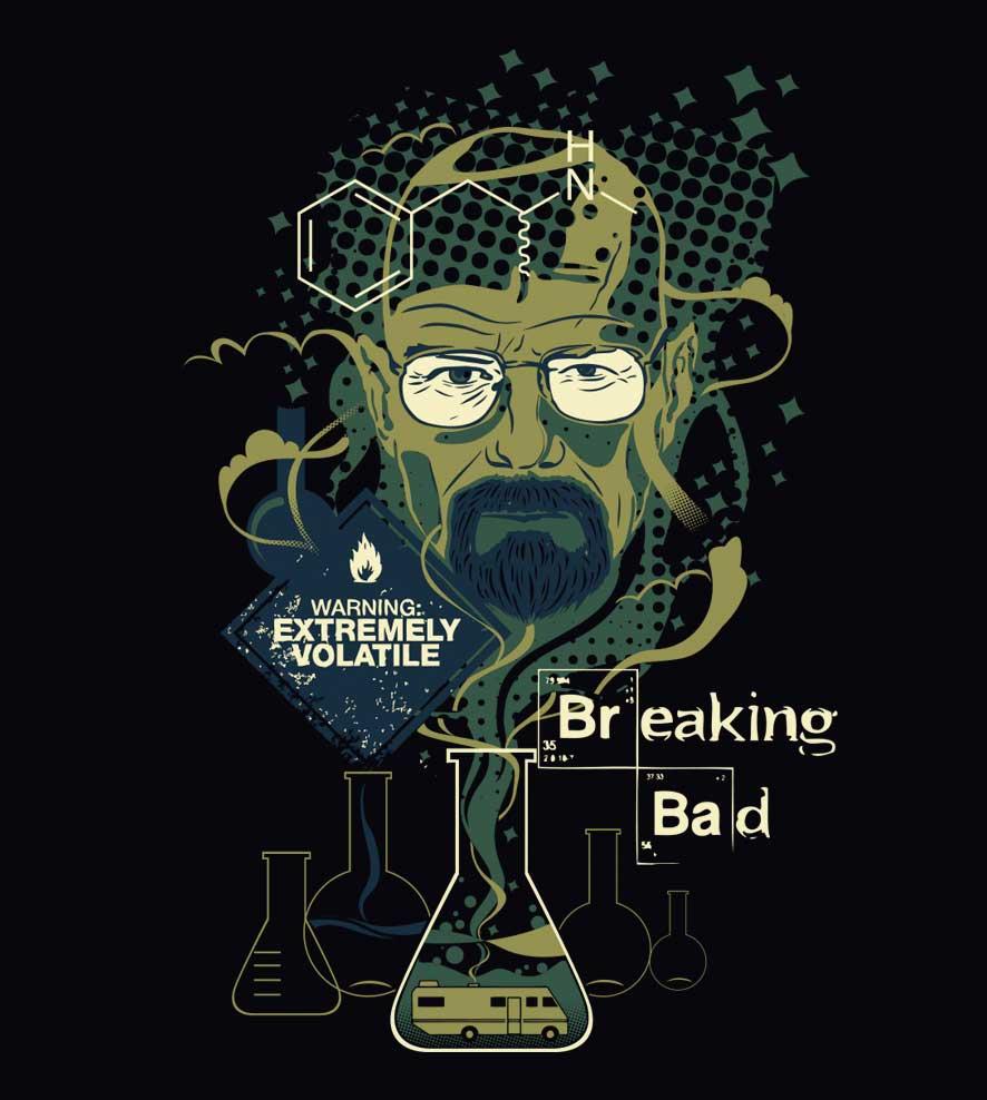 Camiseta - Mr. Walter White - Breaking Bad - Feminino