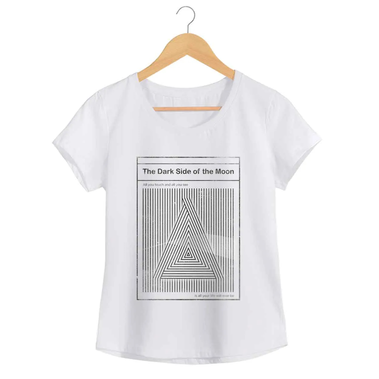 Camiseta - Breathe - Pink Floyd - Feminino