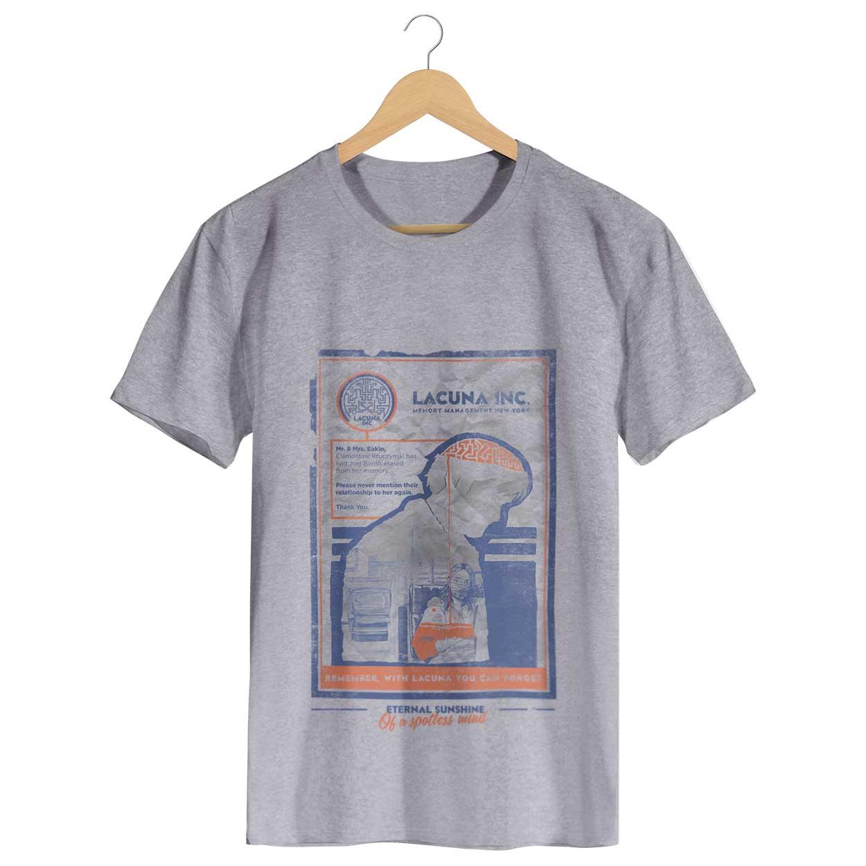 Camiseta - Brilho Eterno de uma Mente sem Lembranças - Masculino