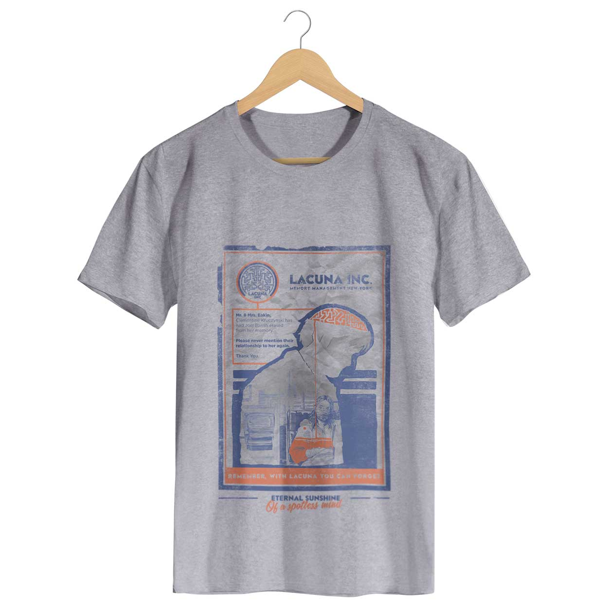 Camiseta Brilho Eterno de uma Mente sem Lembranças - Masculino
