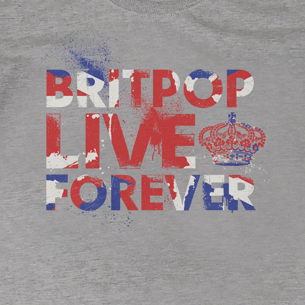 Camiseta Britpop Forever - Feminino