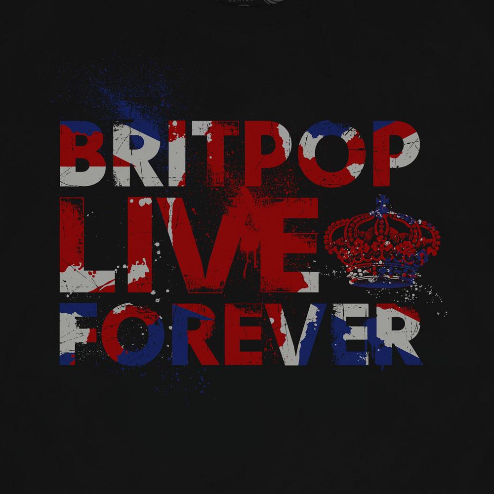 Camiseta Britpop Forever - Masculino