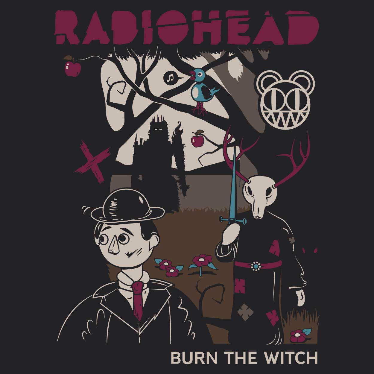 Camiseta Burn The Witch - Radiohead - Feminino