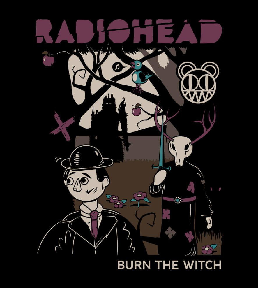 Camiseta - Burn The Witch - Radiohead - Masculino