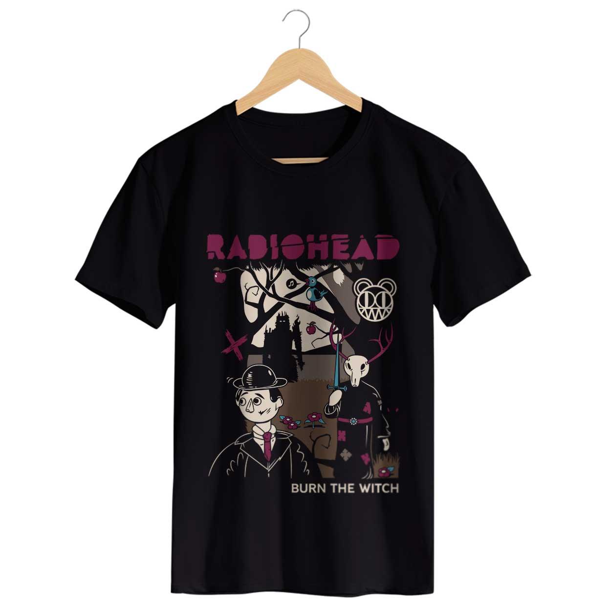 Camiseta - Burn The Witch - Radiohead - Masculino