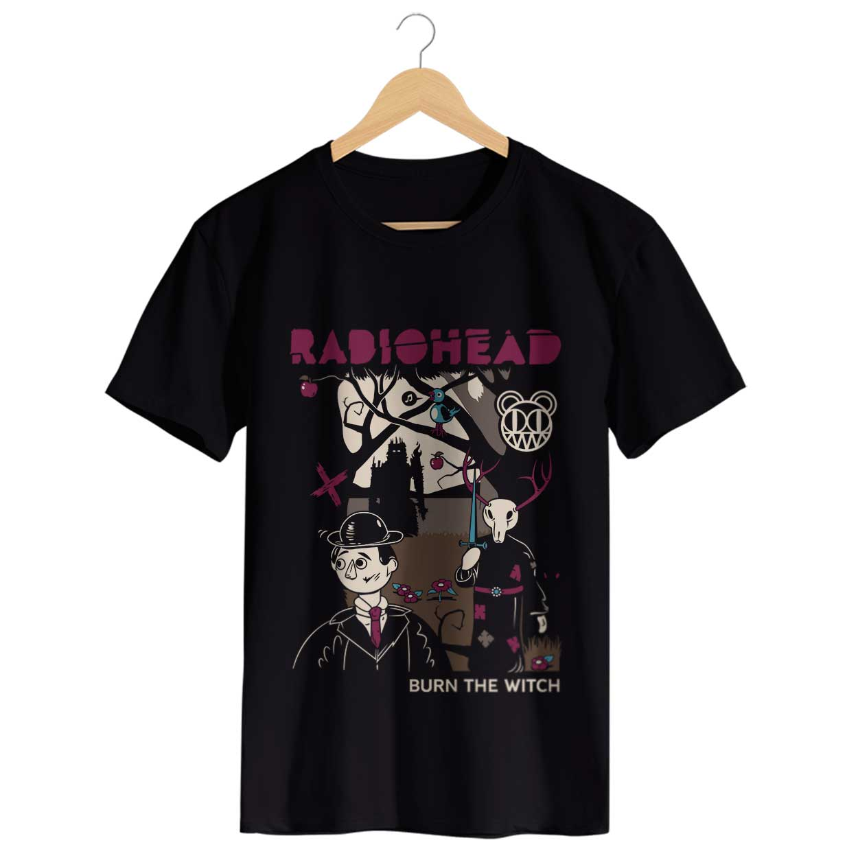 Camiseta Burn The Witch - Radiohead - Masculino