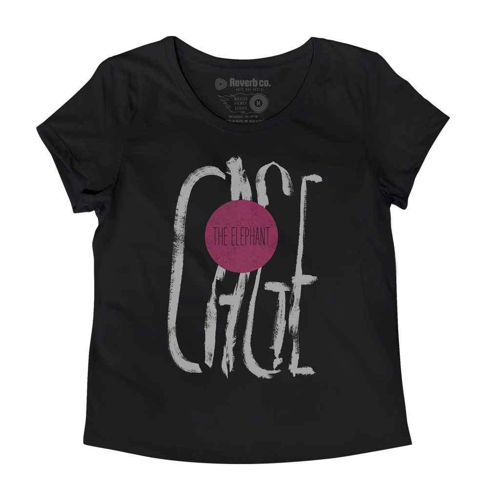 Camiseta Cage The Elephant - Feminino