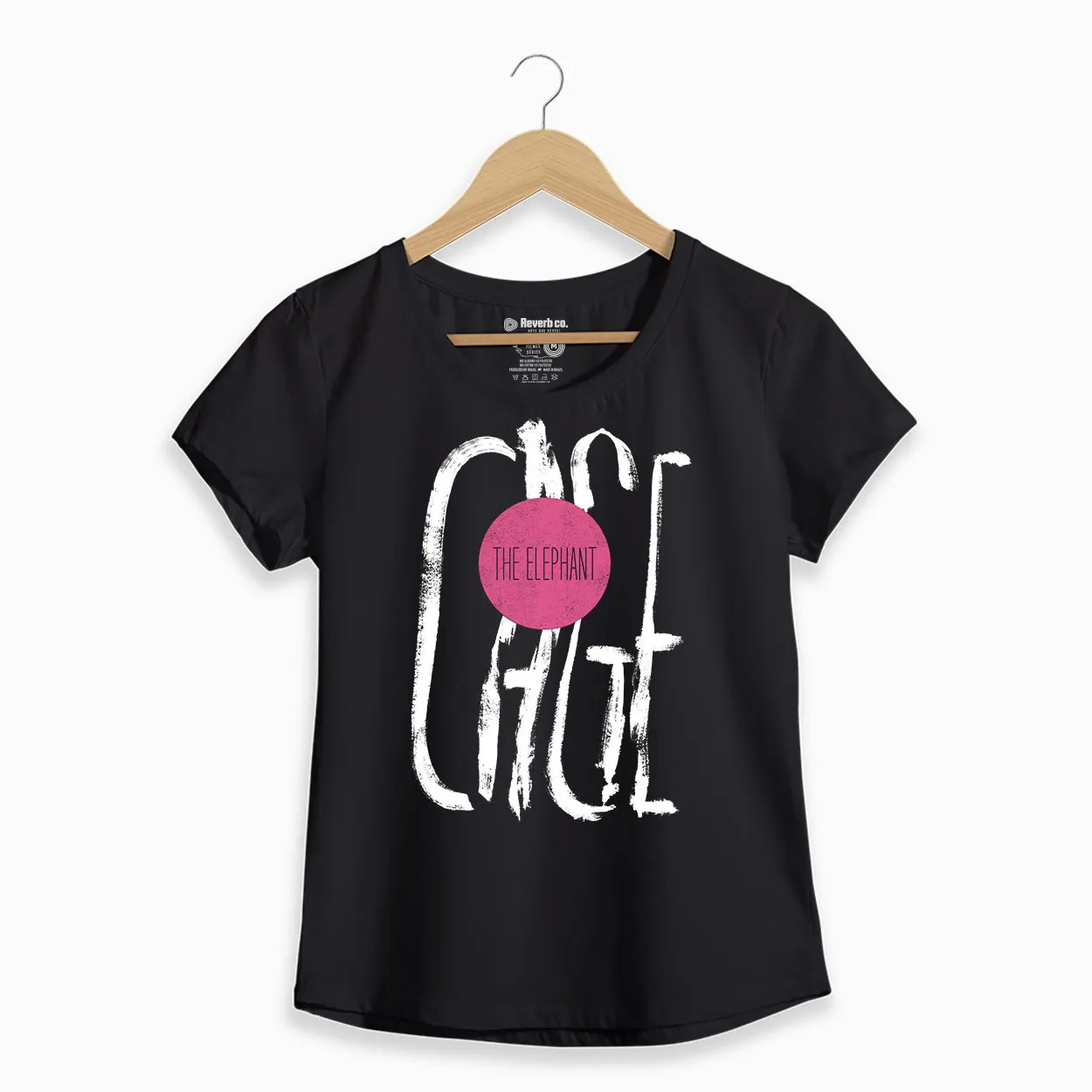 Camiseta  - Cage The Elephant - Feminino