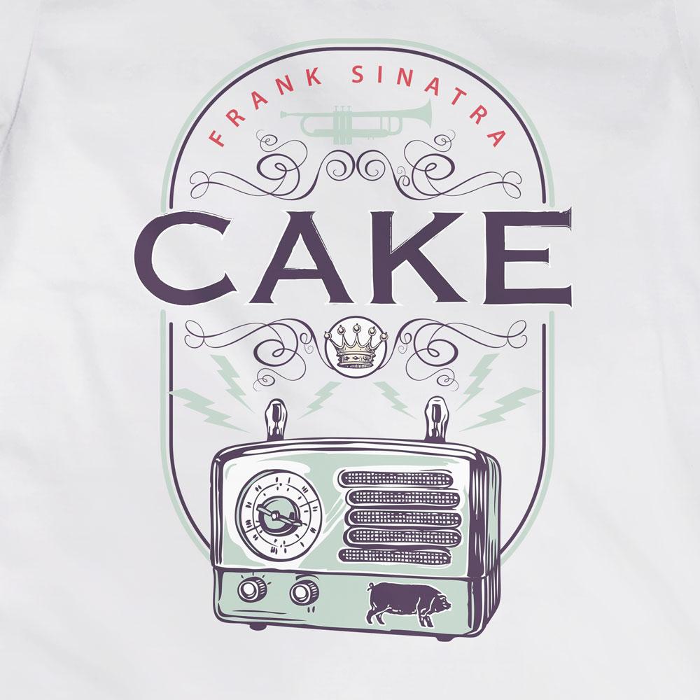 Camiseta Cake -  Frank Sinatra - Feminino