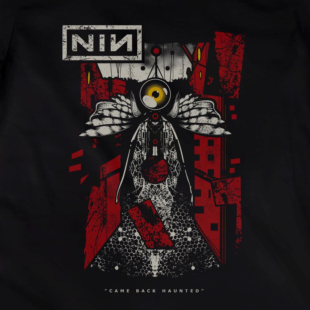 Camiseta Came Back Haunted - NIN - Feminino