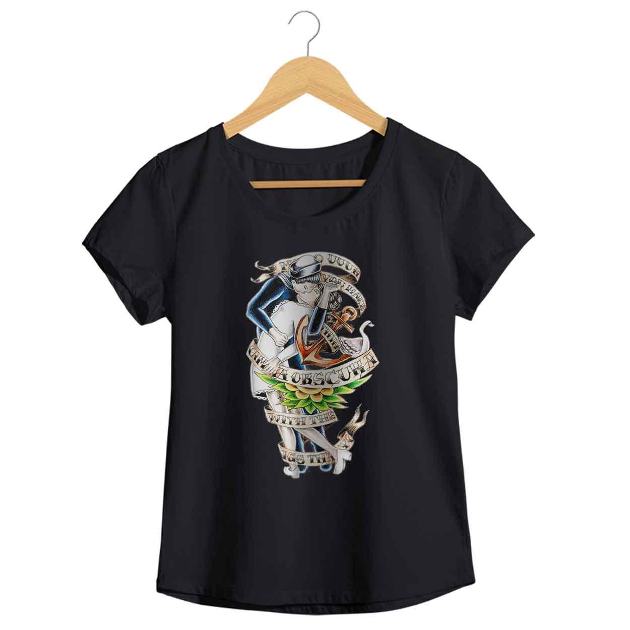 Camiseta - Camera Obscura - Femenino