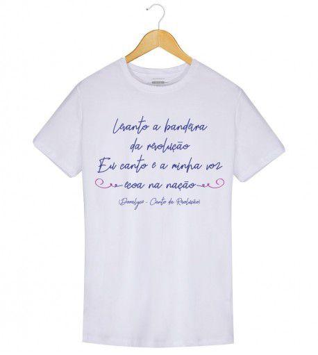 Camiseta - Canto da Revolução - Doralyce - Masculino