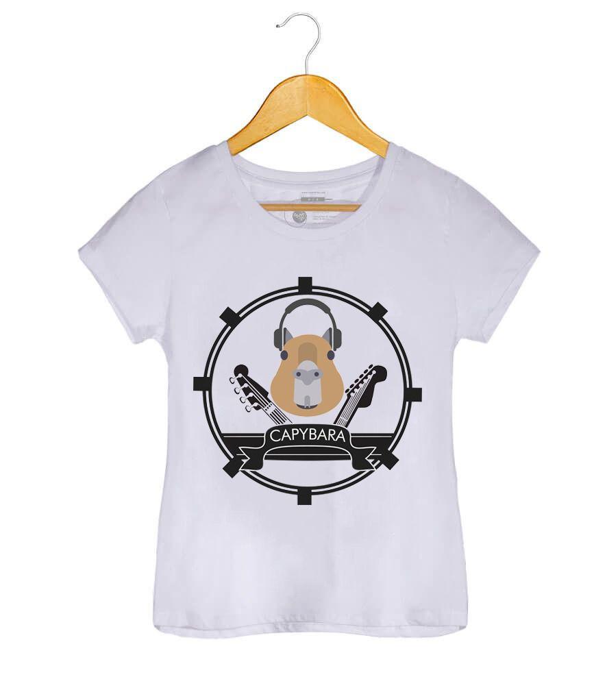 Camiseta - Capybara - Feminino